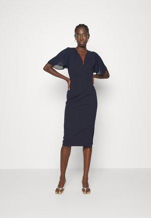 SALUD MIDI DRESS - Shift dress - navy blue