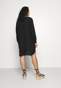 Zizzi - KNEE DRESS - Day dress - black - 2
