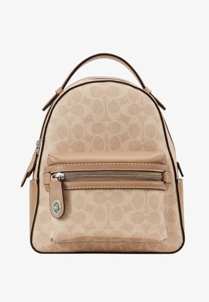 CAMPUS BACKPACK SIGNATURE - Rygsække - sand taupe