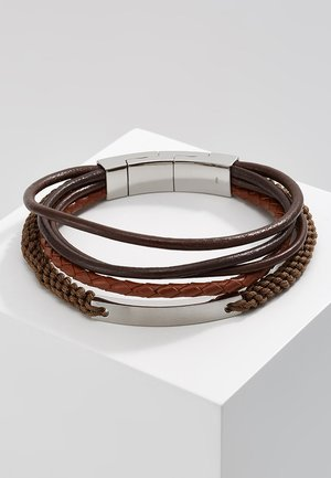 VINTAGE CASUAL - Armband - dunkelbraun