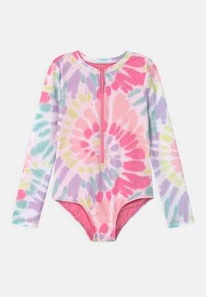 GIRL TIE DYE RASHGUARD - Badpak - multi-coloured