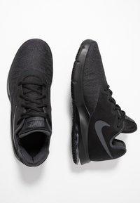 Nike Performance - AIR MAX INFURIATE III LOW - Basketball shoes - black/metallic dark grey/anthracite - 1