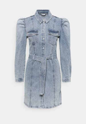 ONLMONICA LIFE DRESS - Dongerikjole - light blue denim