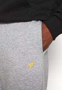 Pier One - Teplákové kalhoty - mottled light grey - 4