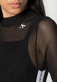 Calvin Klein Jeans - Long sleeved top - black - 4