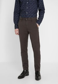 rag & bone - FIT 2 CLASSIC CHINO - Chinosy - grey - 0