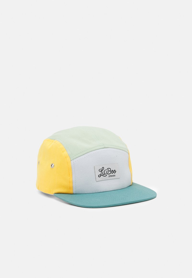 Lil'Boo - BLOCK UNISEX - Cap - dusty green/yellow/white/green