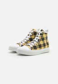 N°21 - High-top trainers - black/yellow - 1