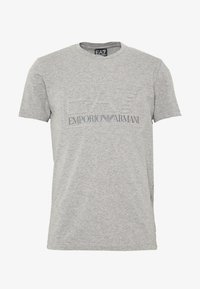 EA7 Emporio Armani - T-Shirt print - medium grey - 4