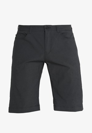 WAY TO GO SHORTS - Sports shorts - rock black