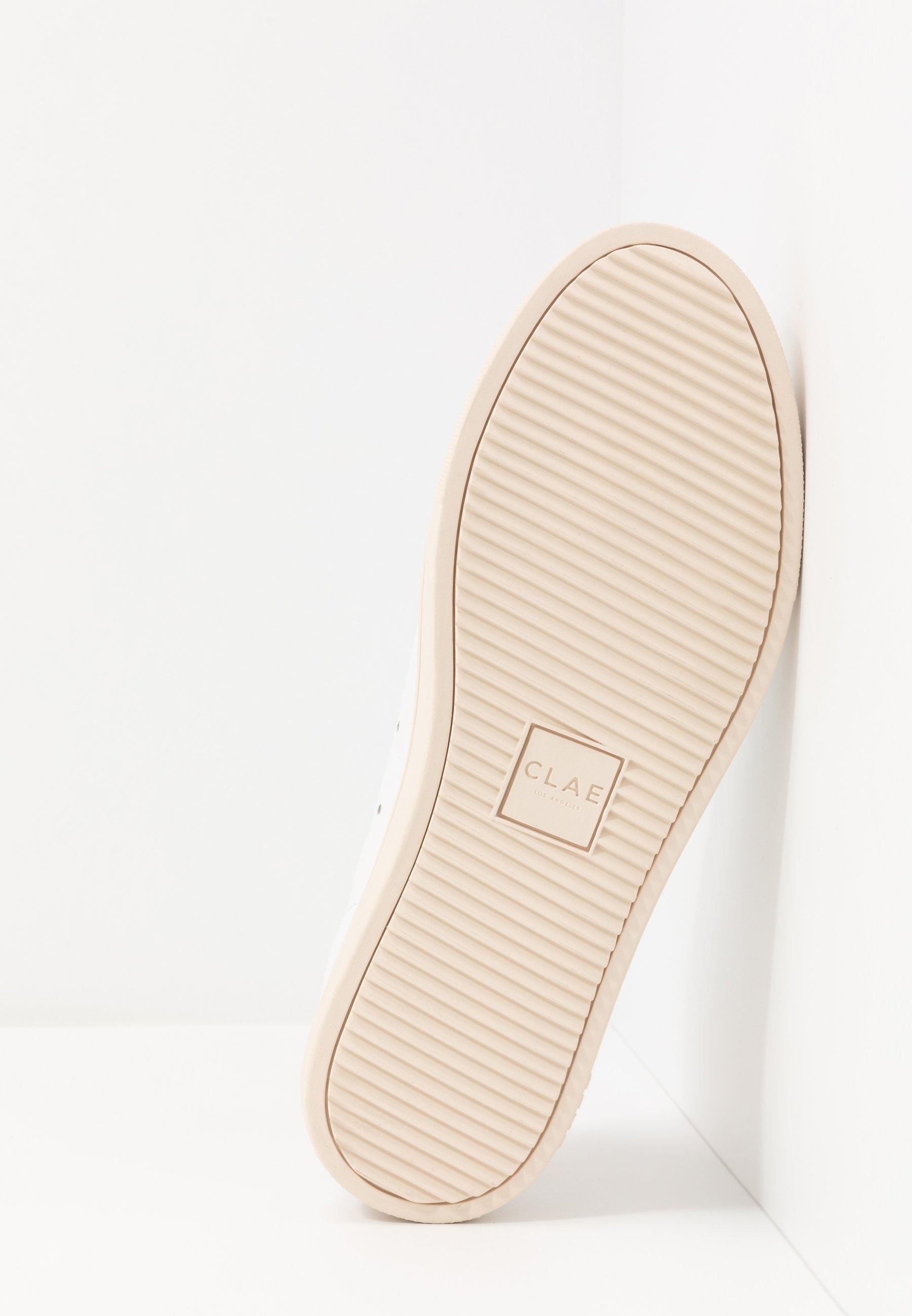 Clae BRADLEY - Sneaker low - white/golden glow/weiß - Herrenschuhe TkQR3