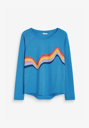 RAGLAN  - Long sleeved top - blue