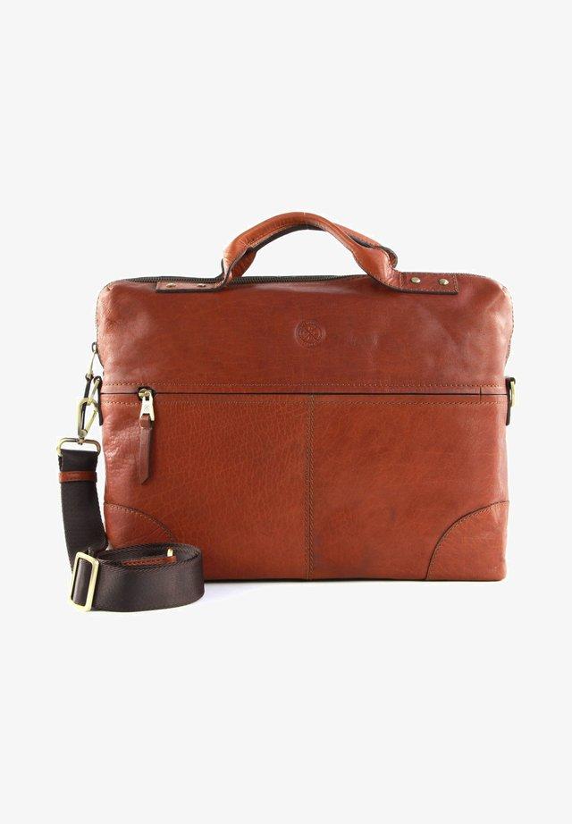Briefcase - midbrown