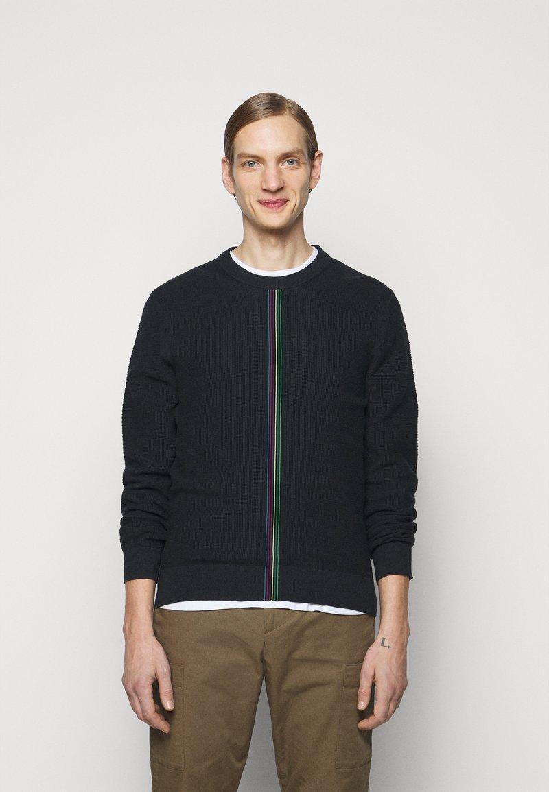 PS Paul Smith - MENS CREW NECK - Jumper - black, multi-coloured
