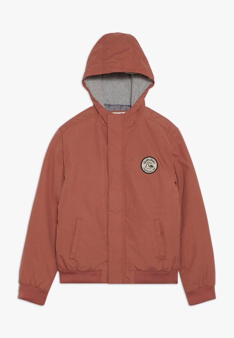 Quiksilver - CHOPPY IMPACT - Outdoor jacket - redwood