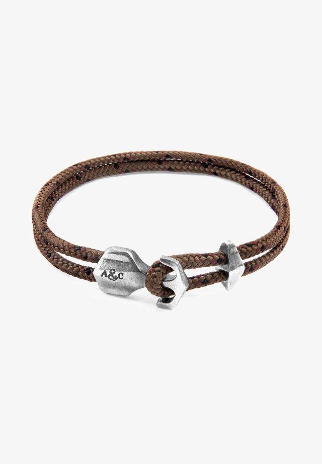 DELTA ANCHOR - Bracelet - brown