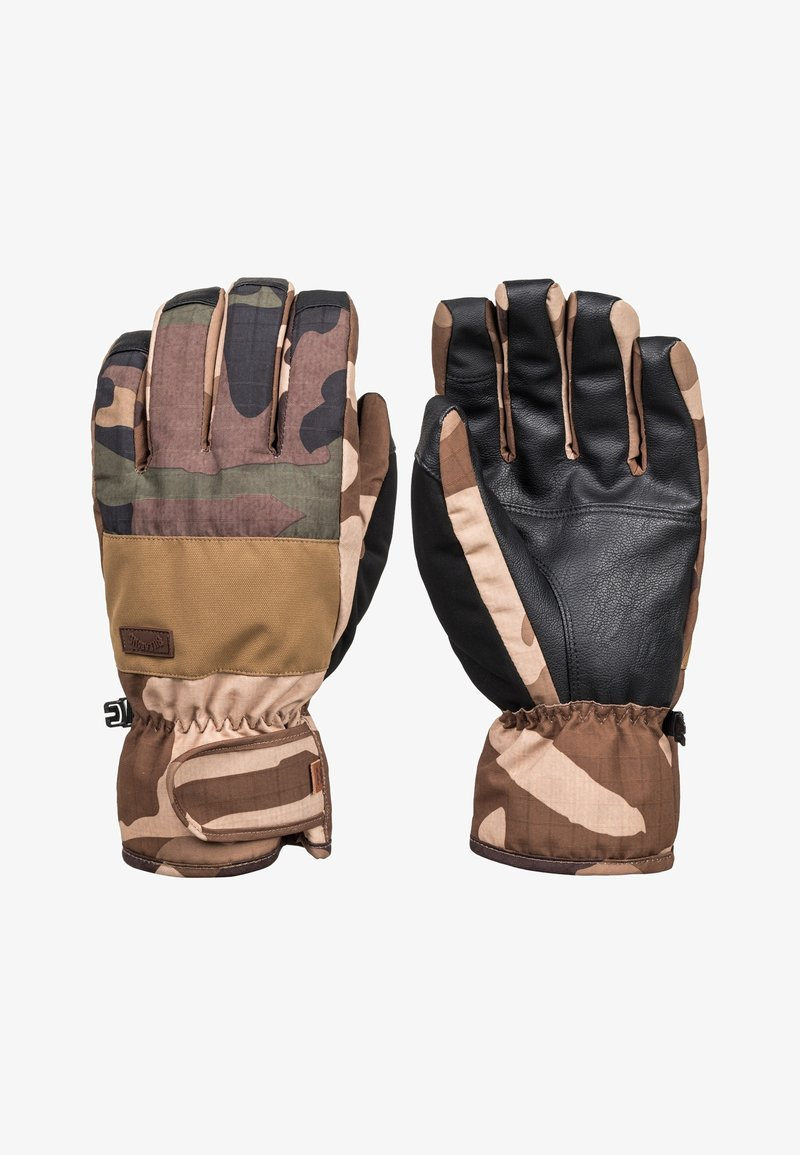 Billabong - Gloves - woodland camo