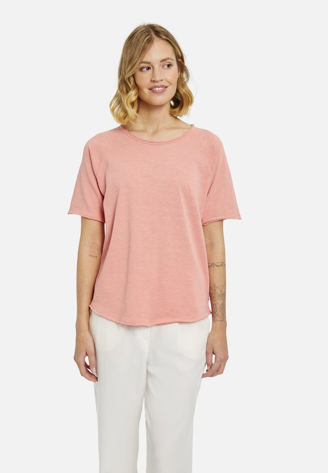 T-shirt basic - vintage rosé