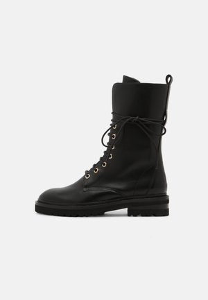 CHAIN ROAD - Lace-up boots - black