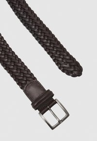 Anderson's - BELT UNISEX - Pletený pásek - dark brown - 2