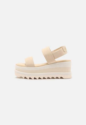 DREACIA - Sandály na platformě - bone