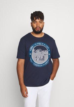 JCOBILO TEE CREW NECK - Print T-shirt - navy blazer