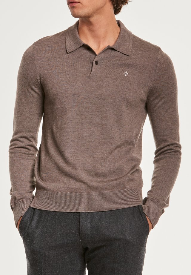 Poloshirts - brown