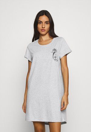 NIGHTIE WILD FLOWER - Negligé - soft grey