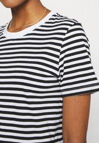 Even&Odd - Print T-shirt - black/white - 5