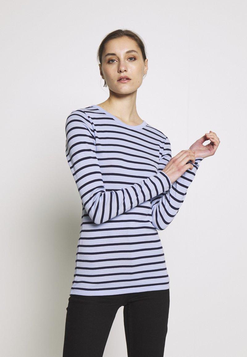 GAP - CREW - Topper langermet - blue stripe