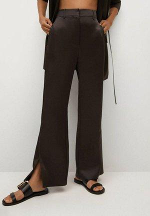 VIOLA-A - Trousers - braun