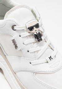KARL LAGERFELD - AVENTUR LACE SHOE - Baskets basses - white - 2