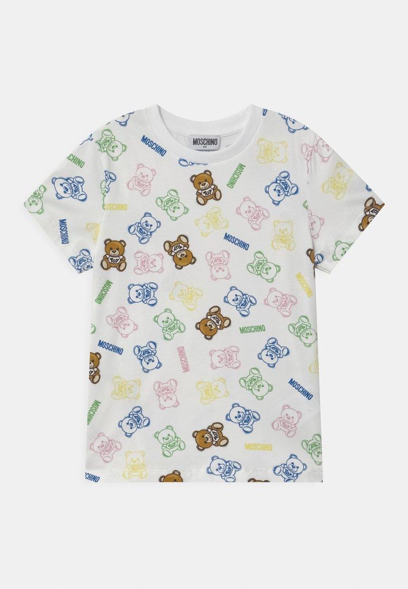 MOSCHINO - UNISEX - Print T-shirt - white