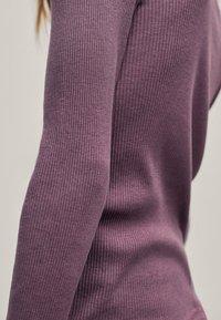 Massimo Dutti - Long sleeved top - dark purple - 2