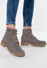 Pier One - Winter boots - grey - 0