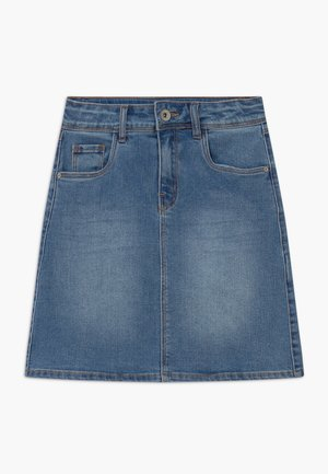 NLFCECE - Jupe trapèze - light blue denim