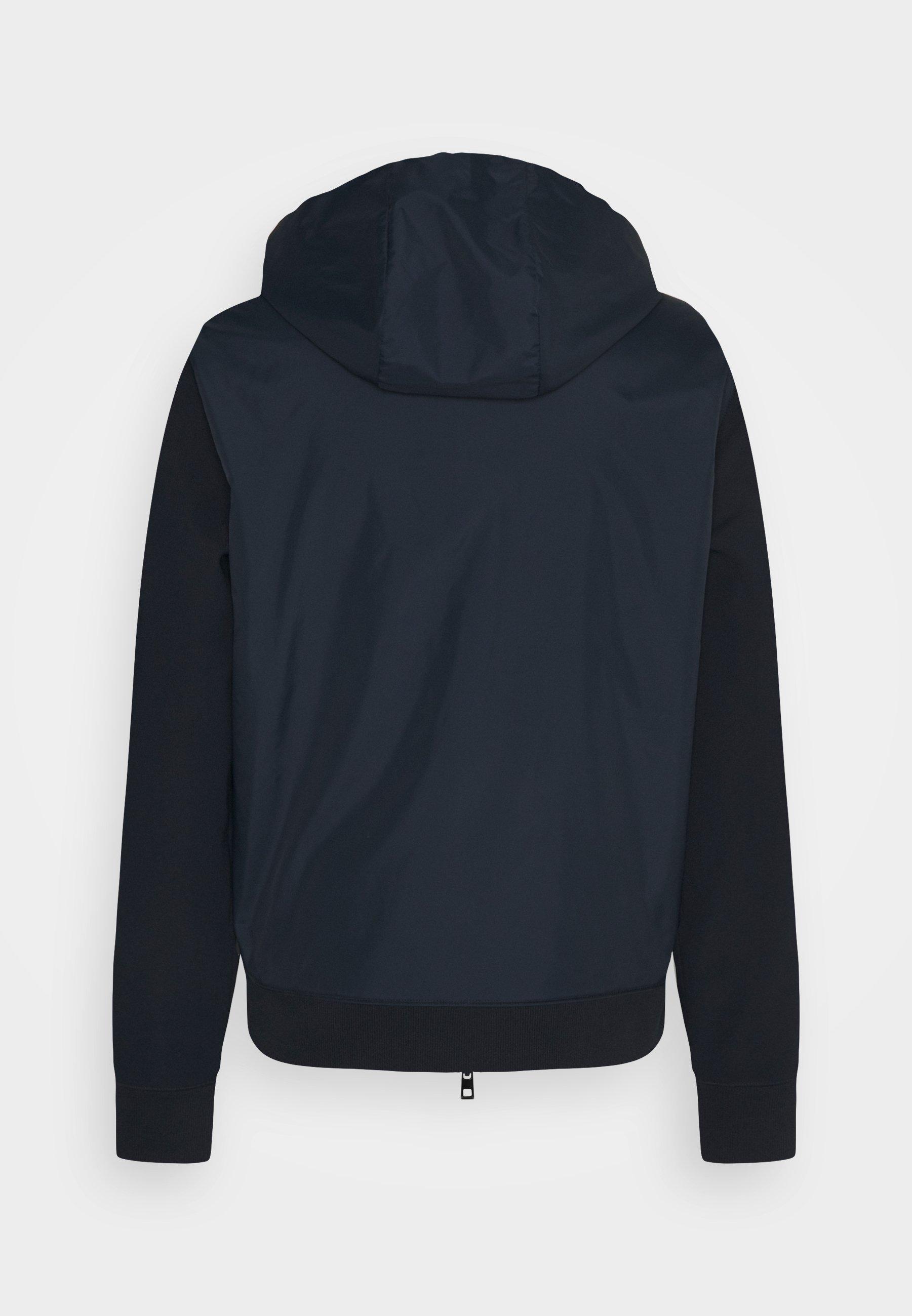 Men NYLON MIX ZIP HOODIE - Zip-up sweatshirt