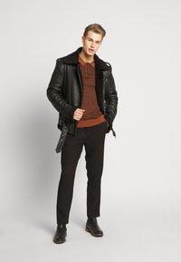 Be Edgy - KILIAN - Leather jacket - black - 1