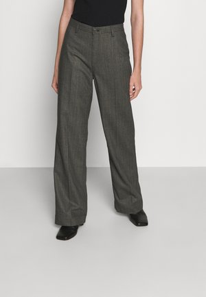 KELIS - Pantaloni - black/grey melange