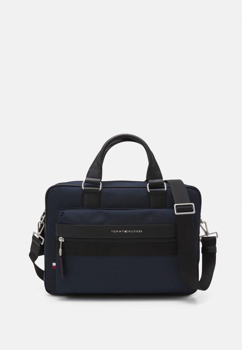 Tommy Hilfiger - ELEVATED COMPUTER BAG - Briefcase - blue