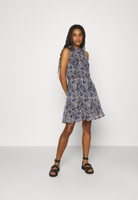 JDY - JDYLARISA HALTERNECK DRESS - Day dress - baby blue - 1