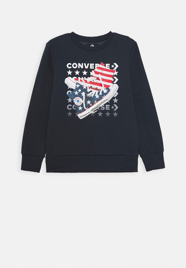 AMERICANA SHOES CREW - Sweatshirt - obsidian