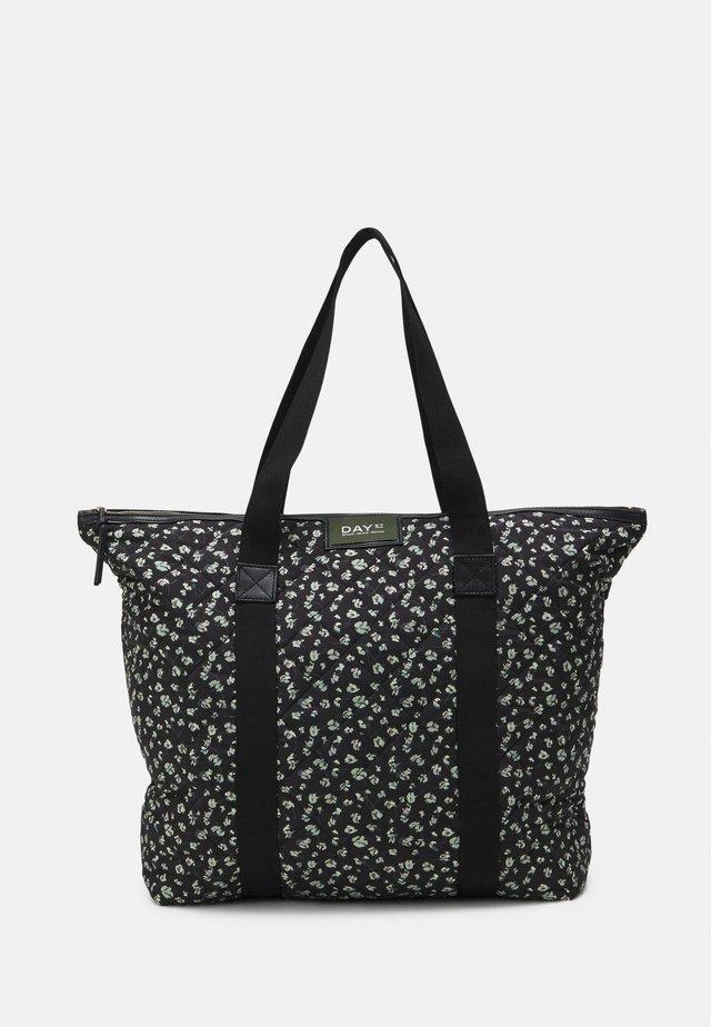 GWENETH FLOWER BAG - Cabas - black