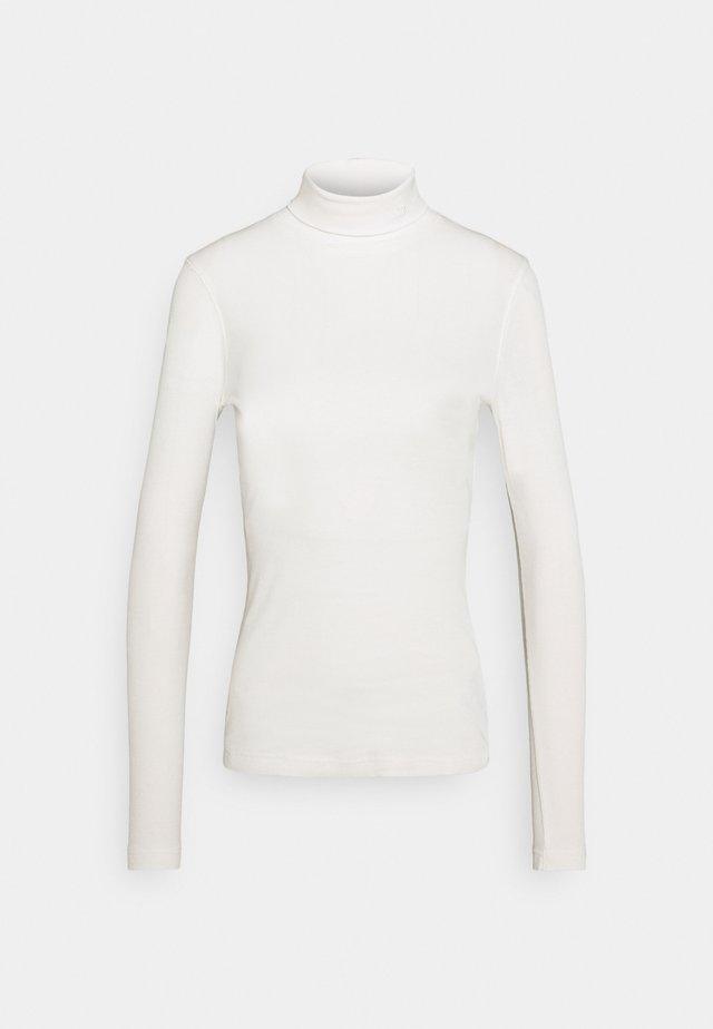 MAGGIE ROLL NECK - Long sleeved top - ivory