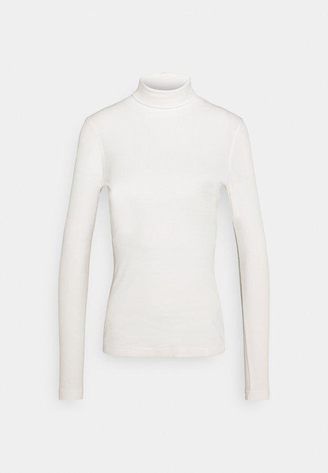 MAGGIE ROLL NECK - Top sdlouhým rukávem - ivory