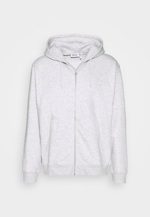 STANDARD ZIP HOODIE - Mikina na zip - light grey melange