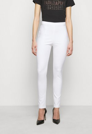 PANTALONI TROUSERS - Trousers - bianco