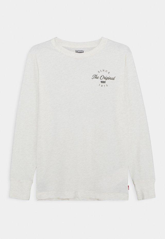 GRAPHIC TEE UNISEX - Pitkähihainen paita - white