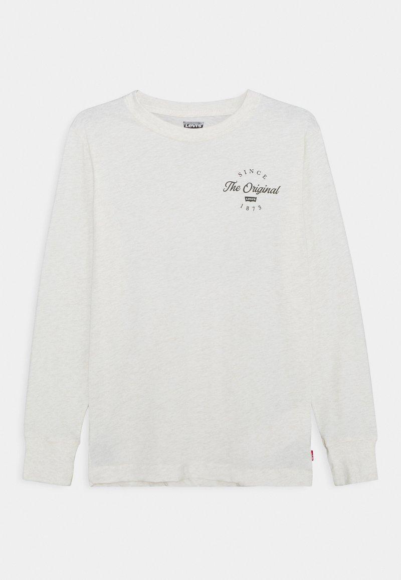 Levi's® - GRAPHIC TEE UNISEX - Bluzka z długim rękawem - white