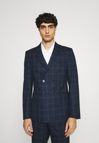Viggo - TENN DOUBLE BREASTED SUIT - Oblek - navy - 2